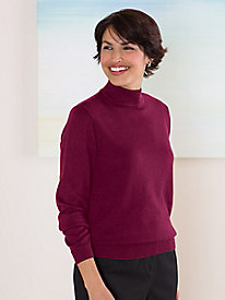 Long Sleeve Essential Mockneck