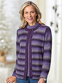 Ombré Cable Cardigan by Koret®