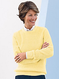 Shaker Stitch Pullover