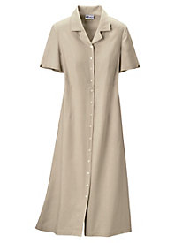 Look-of-Linen Dress