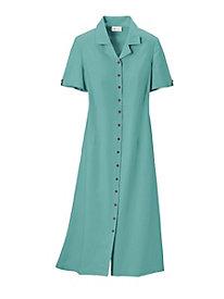 Look-of-Linen Dress