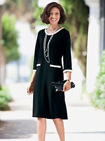 Endless-Compliments Ponte Dress