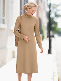 Suprema Scrunch-Neck Dress