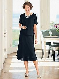 Sophia Two-Piece Dress $49.97 AT vintagedancer.com
