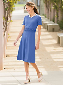 Fit-To-Flatter Knit Dress