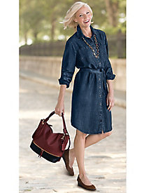 Tencel� Denim Shirtdress