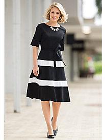 Audrey Striped Dress...