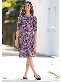 Go-Anywhere Print Dress