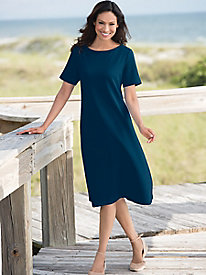 Boardwalk Bateau Dress