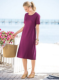 Short-Sleeve Wherever Knit Dress