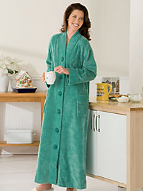 Chenille Long Length Robe