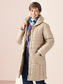 Shawl Collar Storm Coat