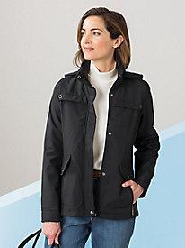 Fleece-Lined Hooded Jacket...