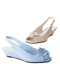 Daisy Sling-backs by Appleseed's