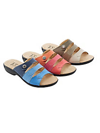 Tri-Tone Sandal by The Tog Shop
