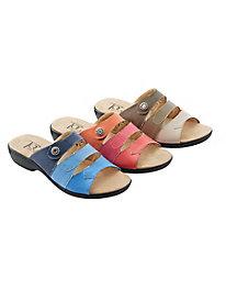Tri-Tone Sandal by The Tog Shop