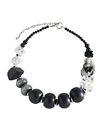 Shades of Gray Statement Necklace 8577790