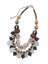 Natural Textures Necklace