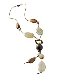 Natural Tones & Textures Necklace