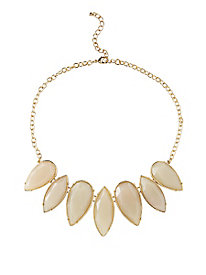 Teardrop Statement Necklace by Appleseed's