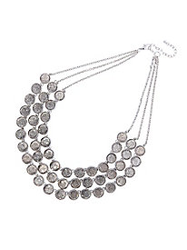 Triple-Platinum Necklace