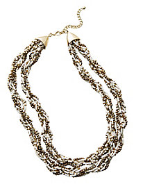 Natural Twist Necklace