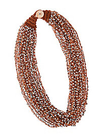 Crochet Seed Bead Necklace...