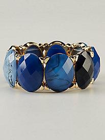 Image of Blue & Gold Bracelet