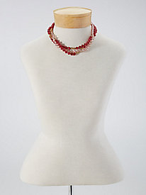 Image of Berry Bead Necklace