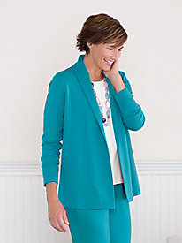 Suprema Drape Jacket