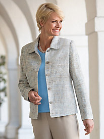 Tweed Wardrobe Jacket
