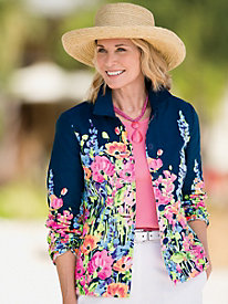 Flower Show Border Jacket