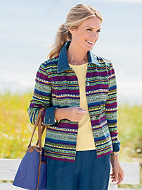 Artisan Stripe Jacket
