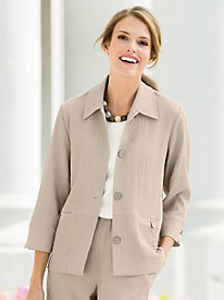 Sienna Back-Button Jacket