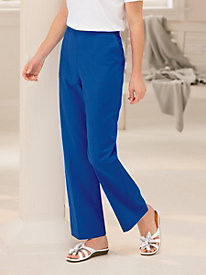 Cote D'azur Cotton Pant by Alfred Dunner&#174