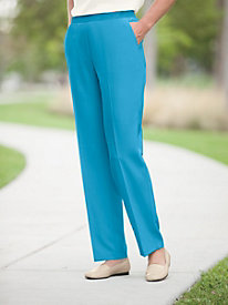 Linen-blend Pull-on Pant by Briggs