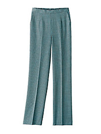 Multi-Check Pull-On Pant