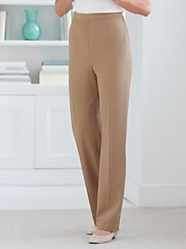 Stretch Gabardine Pull-On Pant