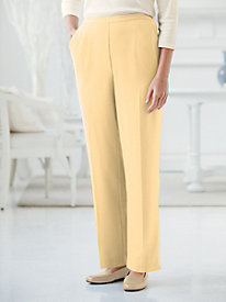 Carefree Look of Linen Pull On Pants