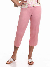 Leon Levin® L-Pocket Capri Pants