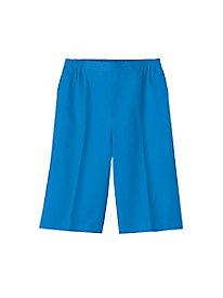 Stretch Twill Pull-On Shorts