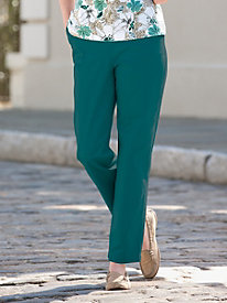 Stretch Twill Pull-On Pant