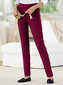 Everyday Knit Essentials Slim-Leg Pants