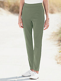 Everyday Knit Essentials Slim-Leg Pants