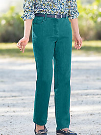 5-Pocket Colored Jeans