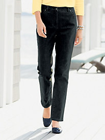 Classic Color-Denim Slim Leg