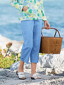Coastal Cotton Capris