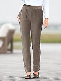 Pinwale Corded Velour Pants
