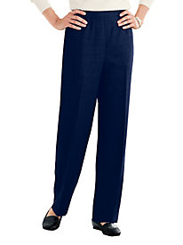Washable Gabardine Pull-On Pants