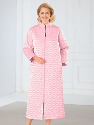 Quilted Satin Robe | TOG Shop : quilted satin robe - Adamdwight.com